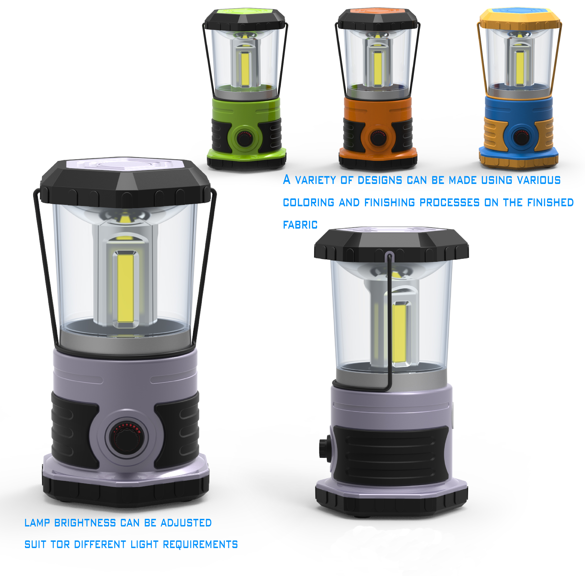 CLC-1604-3 COB CAMPING LIGHT